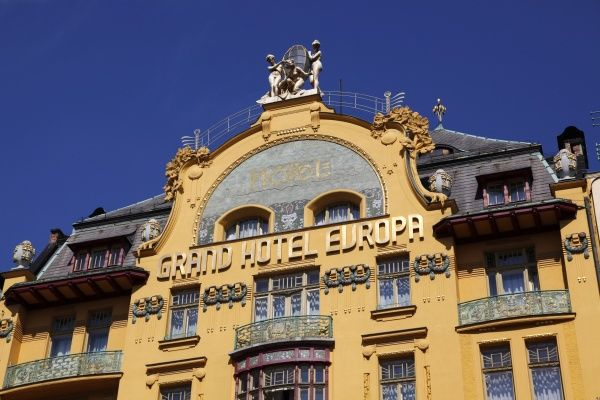Grand hotel europa prague czech republic grand hotel for Hotel europa prague